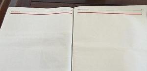 Unità pagine bianche